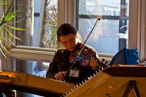 Morning-violin